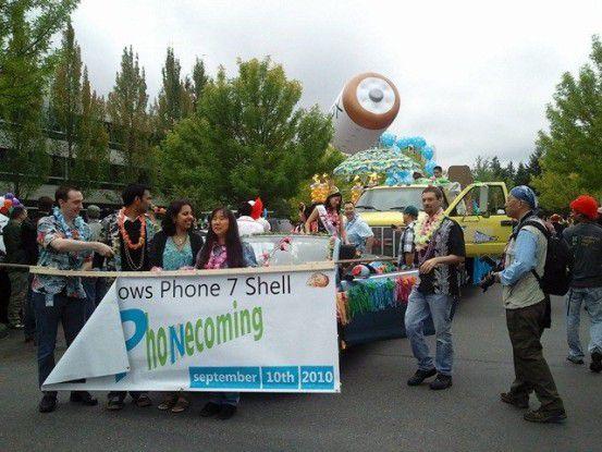 Phonecoming - Microsoft in Feierlaune Quewlle: Microsoft