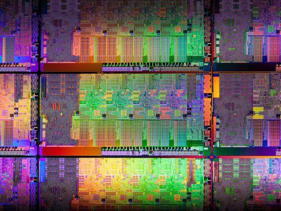 Sandy-Bridge-Die (mit CPUs, die nicht von dem Designfehler betroffen sind)