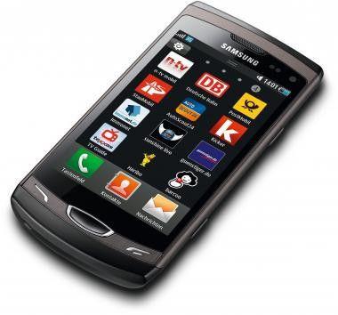 """Das """"Wave II"""" ist eines von Samsungs Bada-Telefonen."""