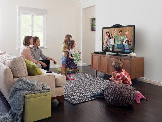 So stellt sich Cisco das umi-vernetzte Wohnzimmer vor (Foto: Cisco Systems)