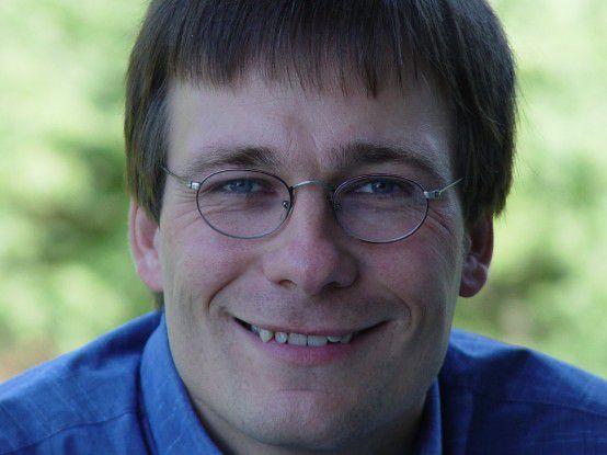 Peter Sanders: 'Der Sieg beim Bundeswettbewerb gab mir den Impuls, ein Netzwerk aufzubauen, das mir schon viel geholfen hat.'