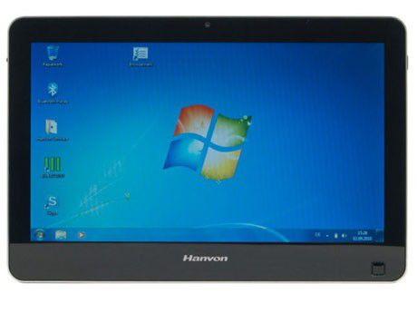 Tablet-PC mit Windows 7 im Test: Hanvon Touchpad B10