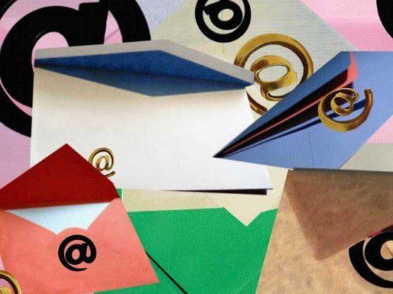 37 Mail am Arbeitstag lesen und beantworten zu müssen - das ist für 60 Prozent der Büroarbeiter zu viel.