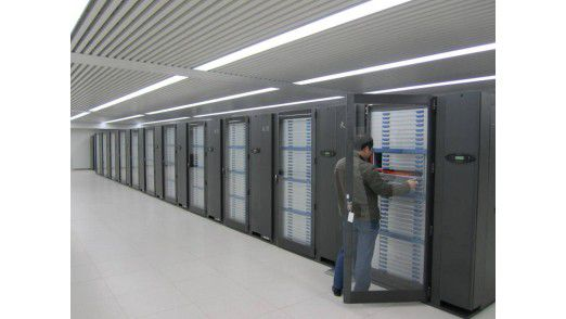 Der neue Benchmark - Supercomputer Tianhe-1A.