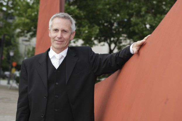 Peter Meyerhans als CIO von Drees und Sommer...Bildquelle: Joachim Wendler