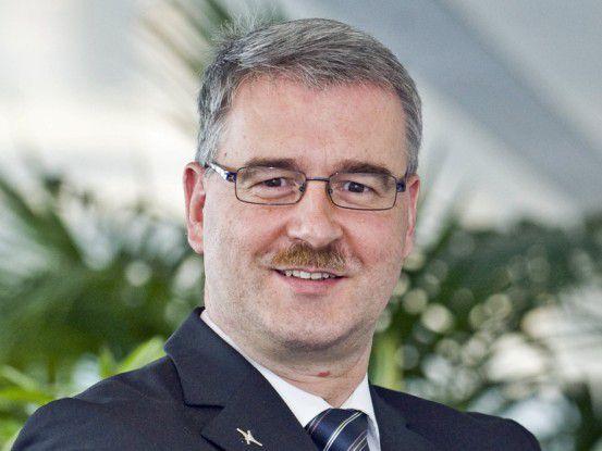 Michael Kranz ist Bereichsleiter Informationsmanagement bei der Krones.