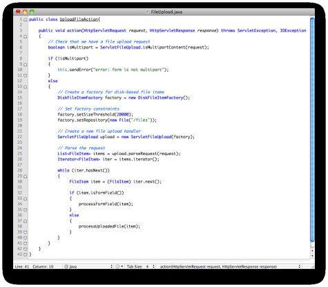 Dank Apache FileUpload können Java-Entwickler das Hochladen von Dateien auf den Server mit nur wenigen Zeilen Code implementieren.