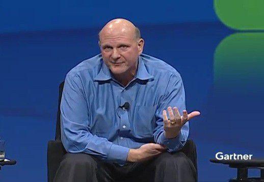 Bezeichnete Windows 8 als risikoreichstes Microsoft-Produkt. Steve Ballmer, CEO von Microsoft.