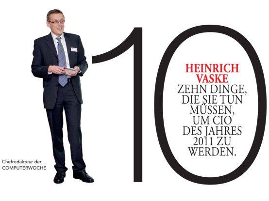 In zehn Schritten zum CIO des Jahres