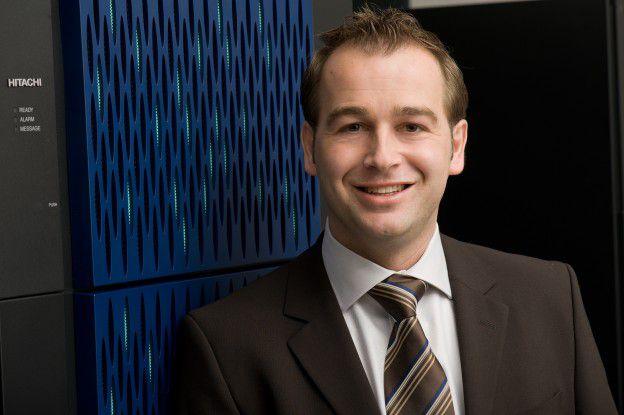 Andreas Wagner, Servicechef von Hitachi Data Systems.