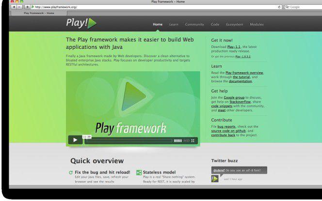 Das Play-Framework soll Java-Entwicklern zu mehr Produktivität bei der Implementierung moderner Web-Anwendungen verhelfen.