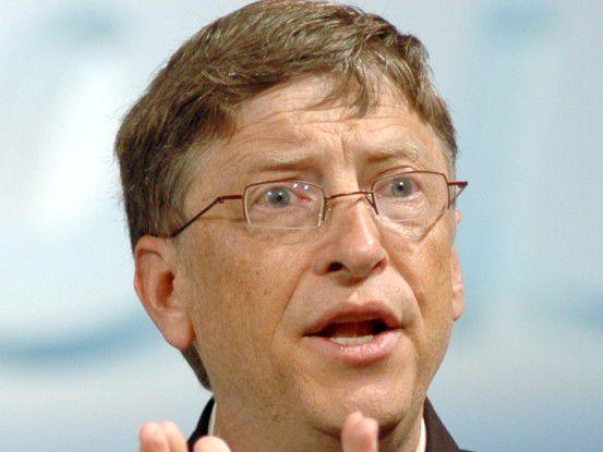 Co-Gründer Bill Gates wird Microsoft wohl nie komplett den Rücken kehren.
