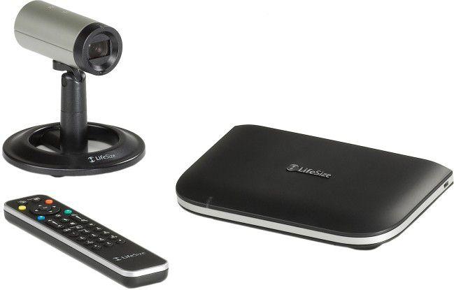Fernbedienung, Kamera und der Codec sind die drei Komponenten des Videokonferenzsystems.