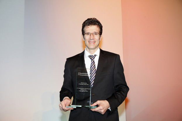Michael Gorriz, CIO von Daimler, gewann den IT-Strategy Award 2011.