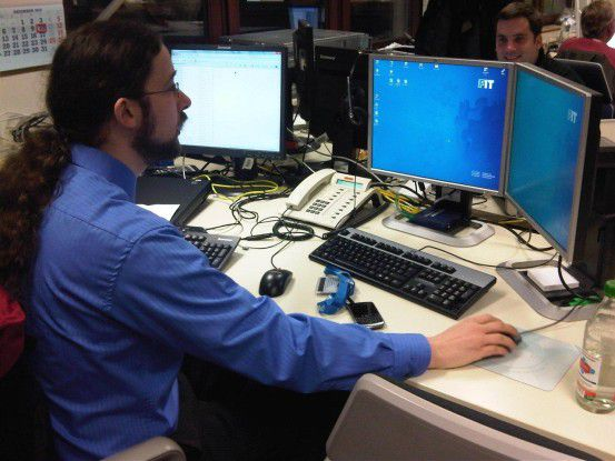 """Martin Mühlinghaus zertifizierte sich schon während seines Studiums zum """"Cisco Certified Network Associate""""."""