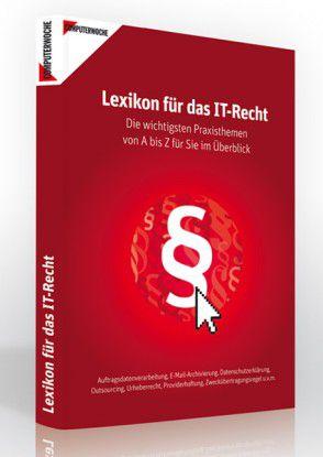 """Das """"Lexikon für das IT-Recht"""" kann ab sofort zu einem Preis von 39,90 Euro bestellt werden."""