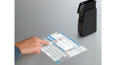 Gadget des Tages: Light Touch – Touchscreen Projektor - Foto: Light Blue Optics