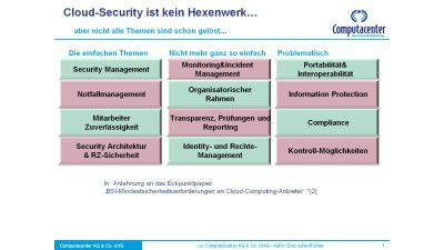 Enterprise Rights Management: Mit sicheren Schritten in die Cloud - Foto: Computacenter