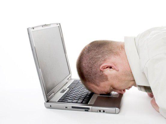 Erschöpft: Viele IT-Experten wachen morgens müde auf und schlafen abends schlecht ein.