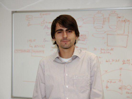 """Michael Jurukov, 25 Jahre, Fachinformatiker bei Fiducia: """"Ich habe mein Hobby zum Beruf gemacht."""""""