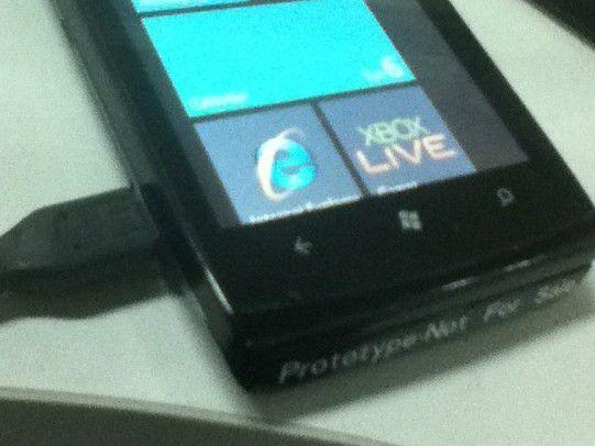 Rückt Sony Ericsson bald mit diesem Smartphone auf Windows-Phone-7-Basis heraus?