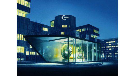 Die MTU-Zentrale in München.