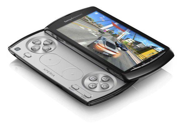 Das SPielehandy Xperia Play ist Playstation-zertifiziert.