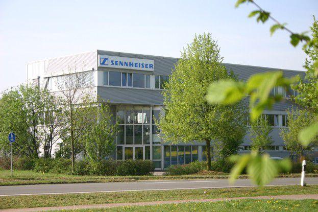 Der Sitz des Sennheiser Professional Service in Barleben bei Magdeburg.