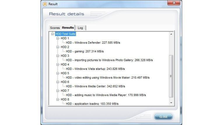 Ergebnis der OCZ Vertex 3 240GB im PCMark Vantage