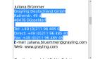 Die App des Tages: Copy2Contact - Kontaktdaten einfach extrahieren