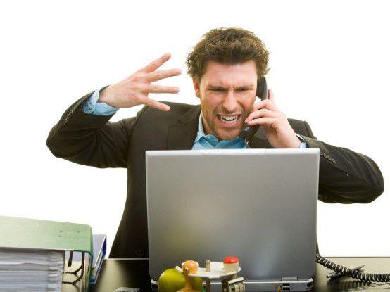 Die Mehrheit der Administratoren fühlt sich gestresst, vom Management, zu straffen Fristen und den Endnutzern.