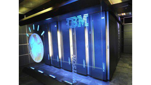 """Watson basiert auf einer Standard-Hardware-Architektur - IBMs """"Power7""""-Prozessoren."""