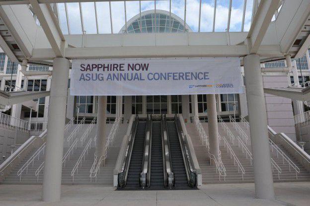 SAP und Dell stellten auf der Sapphire 2011 ihr gemeinsames Angebot für SAPs In-Memory-Technologie und Cloud Computing für SAP-Anwendungen vor.