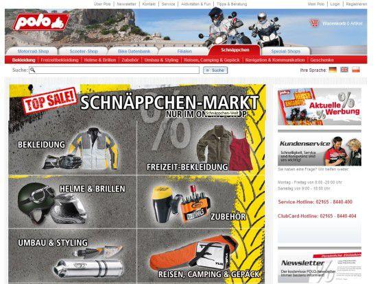 Beispiel eines Magento-Shops.
