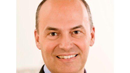 Daniel Hartert, Geschäftsführer BBS und CIO der Bayer AG