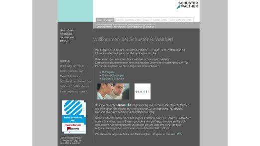 Sieger im Segment PC- und Infrastruktur: Schuster & Walther
