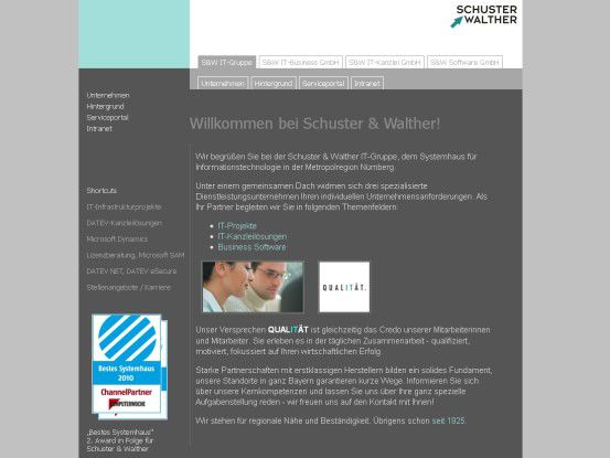 Sieger im Segment Storage-Lösungen: Schuster & Walther