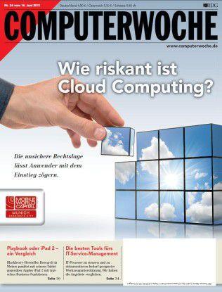 "Das aktuelle Titelthema der CW24/11: ""Wie riskant ist Cloud Computing?"""