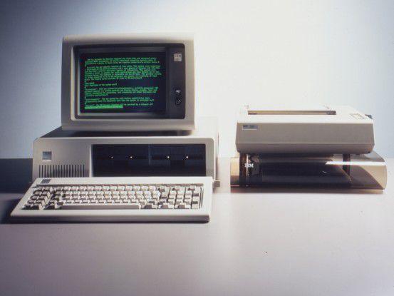 Nicht nur dieser betagte IBM-Rechner, sondern der PC als Gattung hat seine besten Tage bereits hinter sich, meint - nicht nur - Forrester-Research.