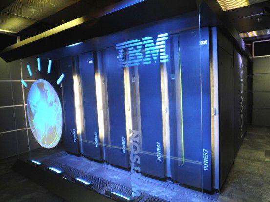 """Der IBM-Supercomputer """"Watson"""""""