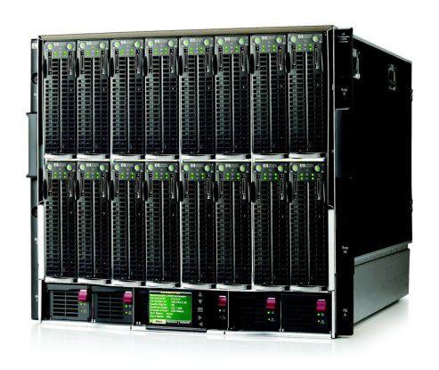 Sorgen bei der BayWa für ausreichend skalierbare Rechenpower in der Converged Infrastructure: Blade-Systeme von HP.