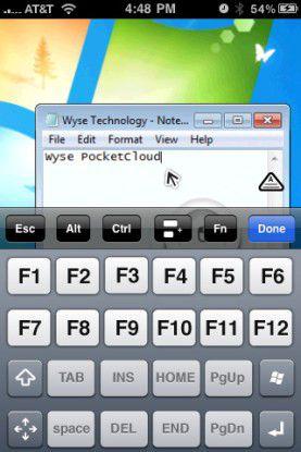 Remote arbeiten - mit Wyse PocketCloud