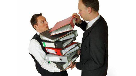 Stress im Job: Führungskräfte fühlen sich oft überfordert. Ihnen fehlen qualifizierte Kollegen und Mitarbeiter.