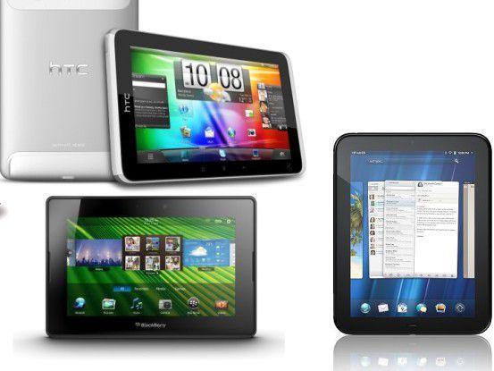 Zahlreiche Tablet-Hersteller hoffen auf Erfolg im Windschatten von iPad/iPad 2.