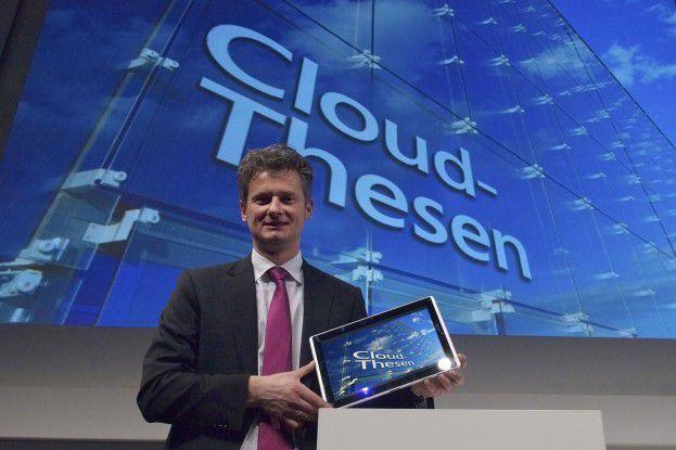Microsoft-Deutschland-Geschäftsführer Ralph Haupter glaubt an die CeBIT.