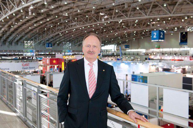 Ernst Raue, im Vorstand der Deutsche Messe AG für die CeBIT verantwortlich
