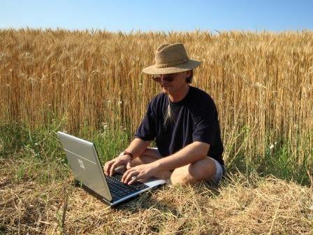 Ruhe und frische Luft: Immer mehr IT-Kreative entdecken das Landleben für sich.