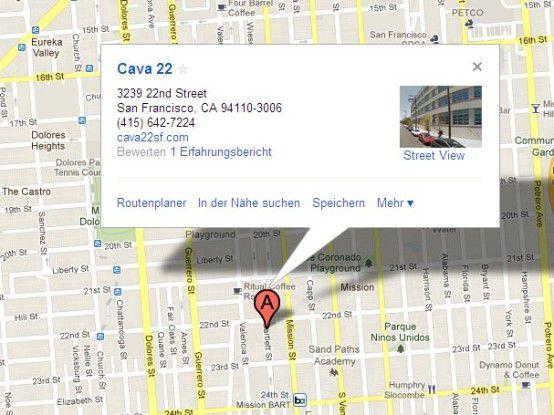 Anderer iPhone-Prototyp, andere Lokalität: Die für Drinks und Mariachis bekannte Bar Cava22