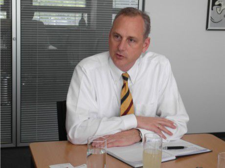 Stefan Herrlich, Geschäftsführer von Siemens Enterprise Communications in Deutschland