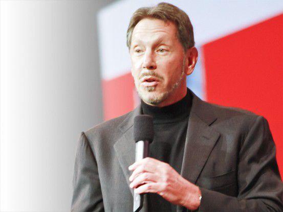 """Oracle CEO Larry Ellison gibt sich gänzlich unbescheiden: """"Die Übernahme von Sun verändert die IT-Industrie."""""""